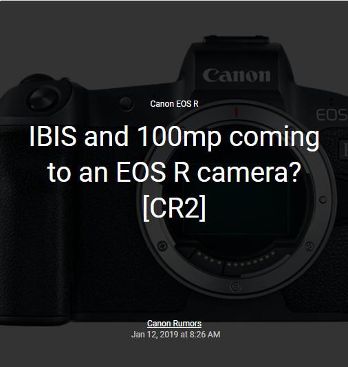 ไปต่อไม่รอแล้วนะ Canon เตรียมจัดหนัก 100MP+ พร้อมกันสั่นใน